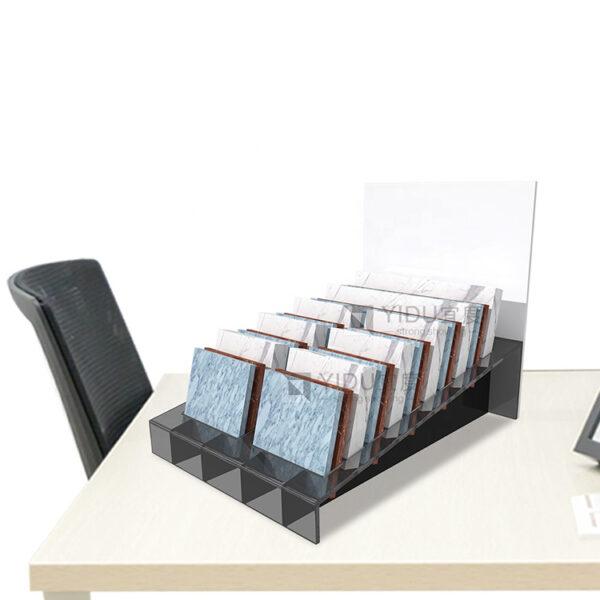 Acrylic Countertop Display Racks,Quartz Stone Display Rack Ceramic Stand Tile Floor Display