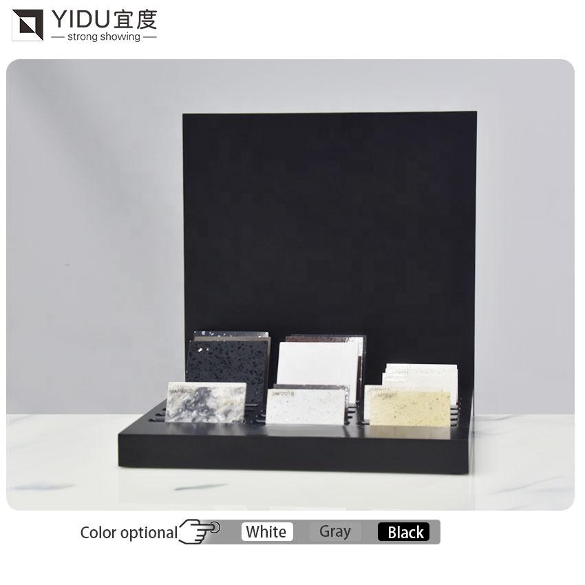 Exquisite Marble Quartz Stone Countertop Display Rack Ceramic Tile Display Wholesale