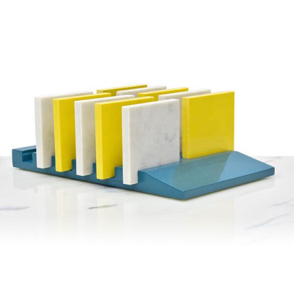 Hot-selling Stone Countertop Rack For Marble Quartz Stone Tile Display Shelf
