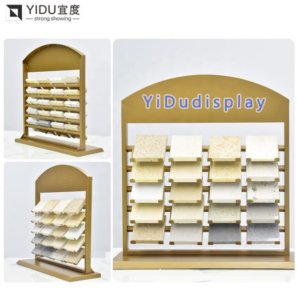 Quartz Stone Display Rack,Quartz Stone Desktop Display Rack Wholesale Customization