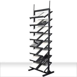 High Quality Floor Standing Tile Display Rack
