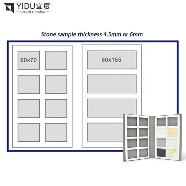 High-quality Stone Sample Book From China,4 pages