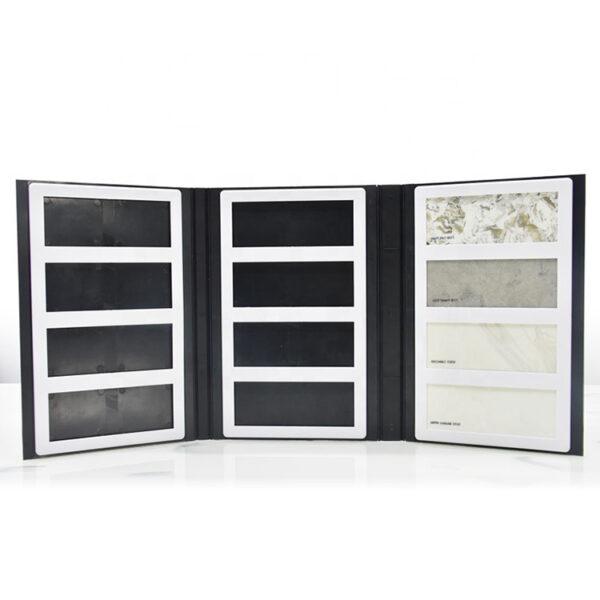 Custom Quartz Stone Marble Cardboard Sample Book,3 Pages