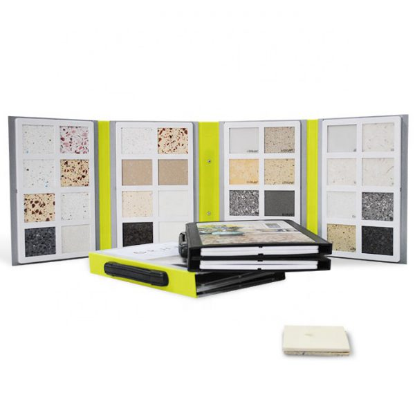 Hot Selling Granite Sample Book Wholesale, 4 Folds Pages