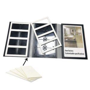 Tile Sample Plastic Folder Manufacturer,3 Pages