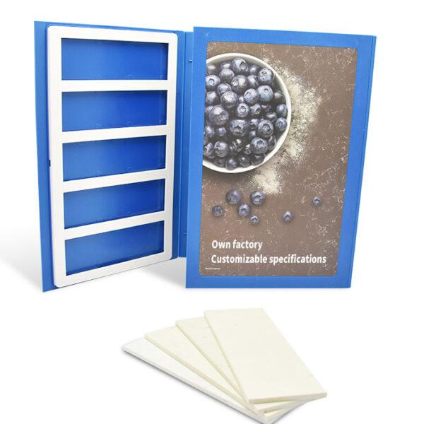 Stone Floor Tile Case Plastic Sample Book