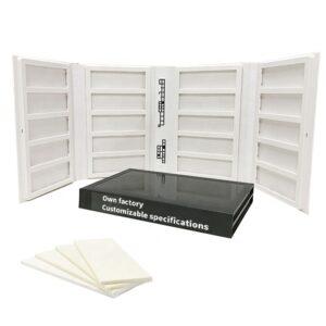 20 Capacity Display Brochure Plastic Folder Stone Sample Book