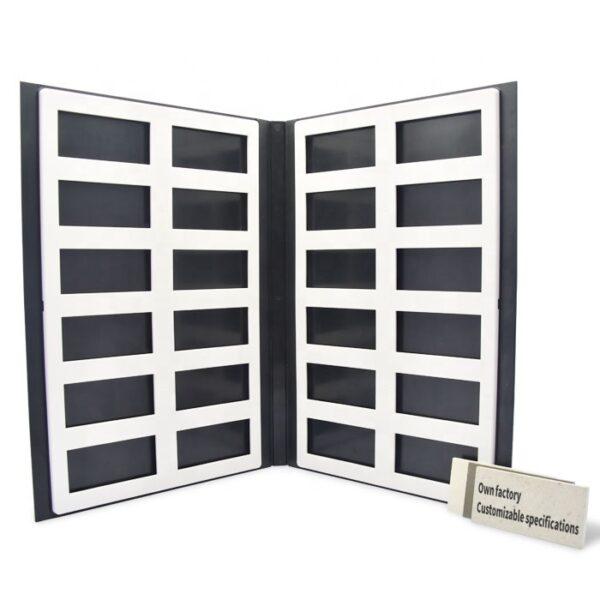 Cardboard Sample Book Quartz Stone Marble Sample Book