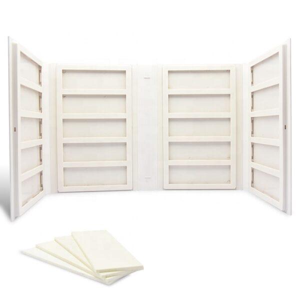 White Ceramic Tile Sample Folder Portable Sample Book