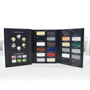 The Stone Sample Catalog For Display Ceramic Tiles, Quartz Stone, Granite