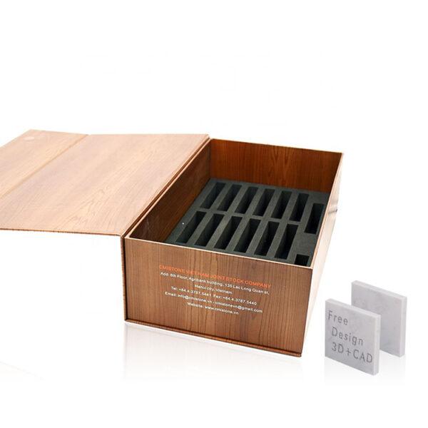 Wooden Tile Stone Marble Sample Box
