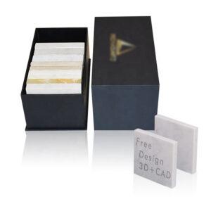 Black Granite Sample Display Box