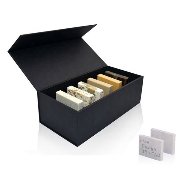 Black Display Box For Marble Granite Tile Sample Display