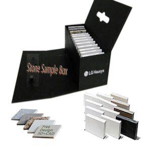 Distributor of Black Quartz Sample Display Box