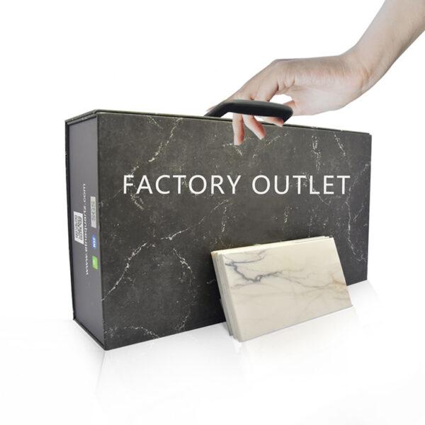 Portable Cardboard Stone Sample Display Box