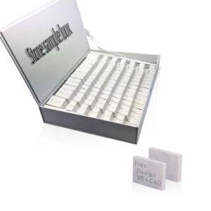 Exquisite Marble Quartz Stone Sample Display Box Supplier