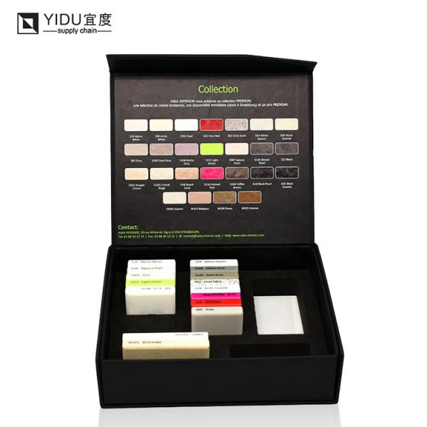 Customized Exquisite Stone Sample Packaging Box