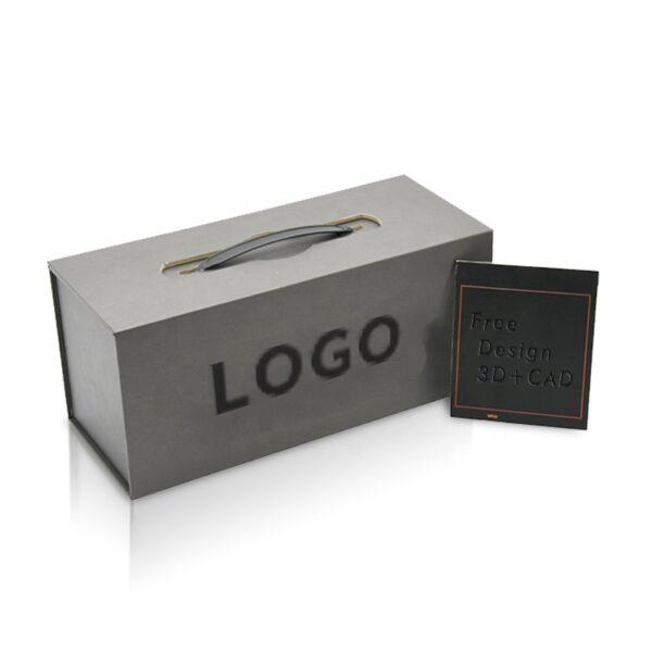 Quartz Stone Sample Packaging Box With Logo Printed