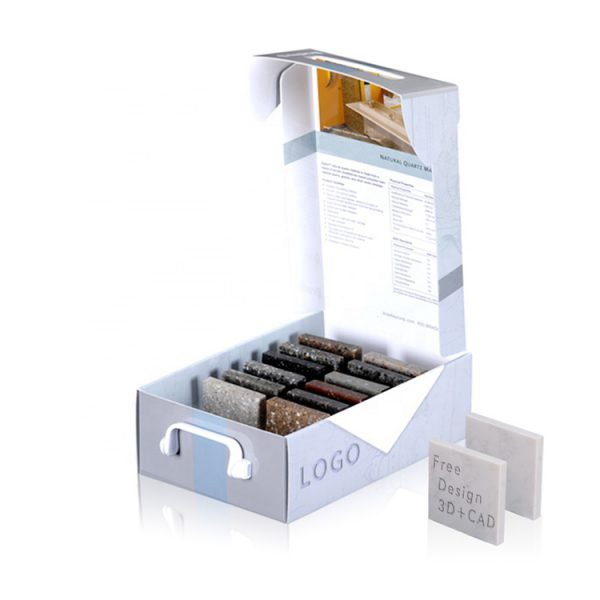 Portable Exquisite Stone Sample Packaging Display Box