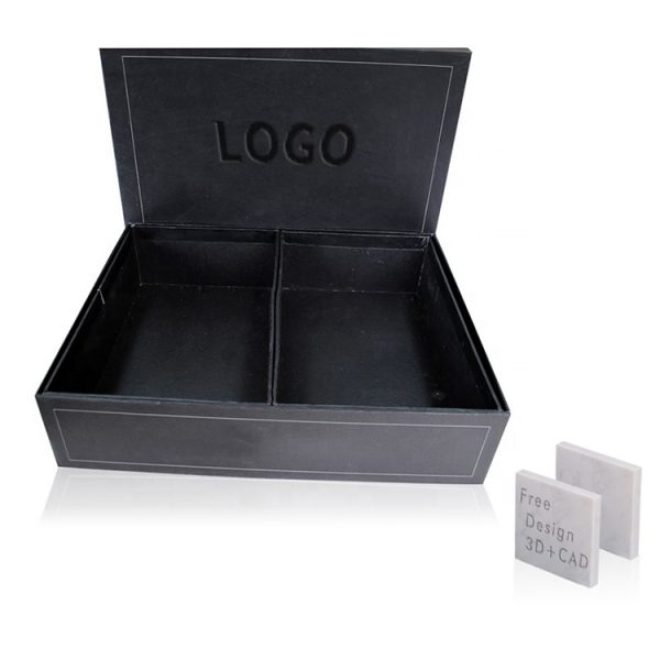 The Black Stone Sample Box Contains 2 Marble Samples