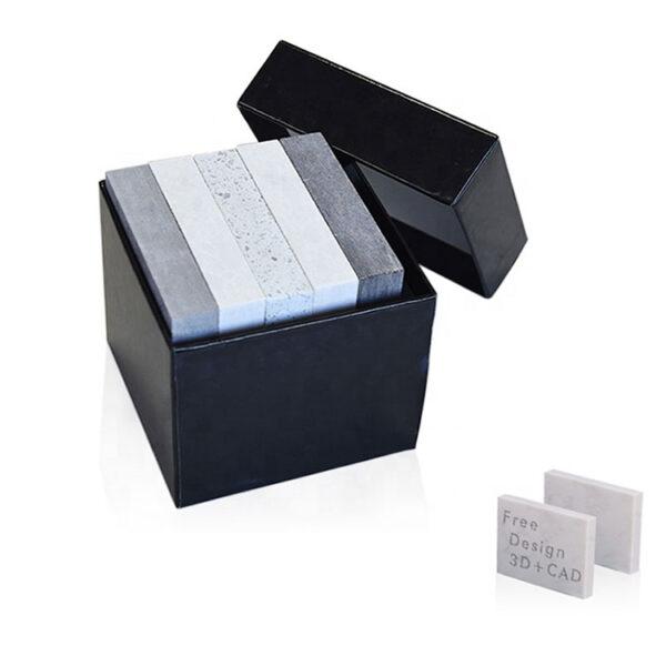 Chocolate Slab Marble Granite Sample Box