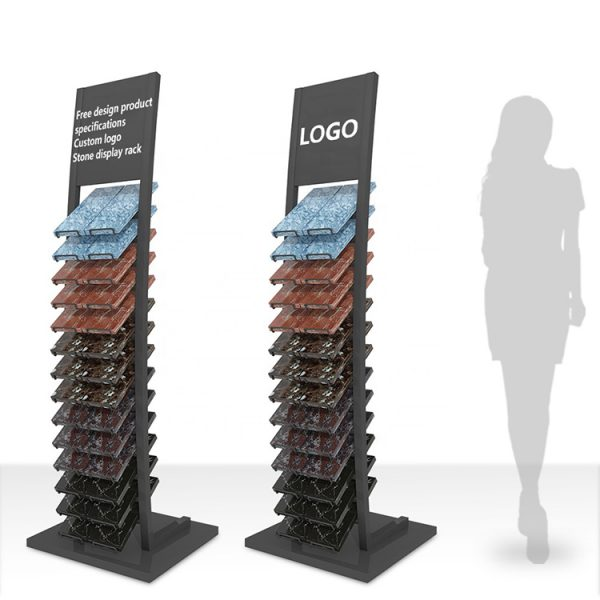 Tile Showroom Display Stands,Waterfall Tile Display Stand
