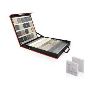 Custom Tile Wood Floor Sample Portable Boxes