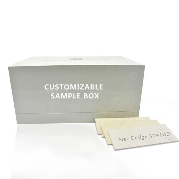 New Quartz Stone Tile Sample Display Box Case