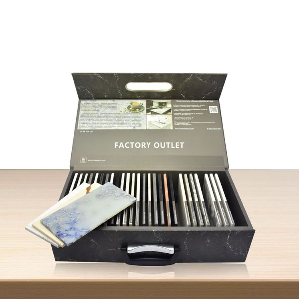 High Quality Hot Selling Ceramic Tile Suitcase Display Box