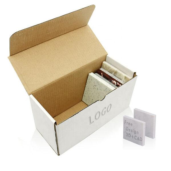 Granite Sample Cardboard Display Box