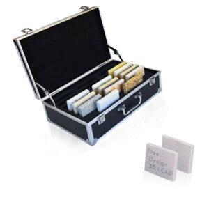 Quartz Stone Sample Display Suitcase
