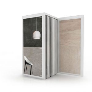 Sliding Type Tile Display, For The Display Of Ceramic Floor And Wall Tiles