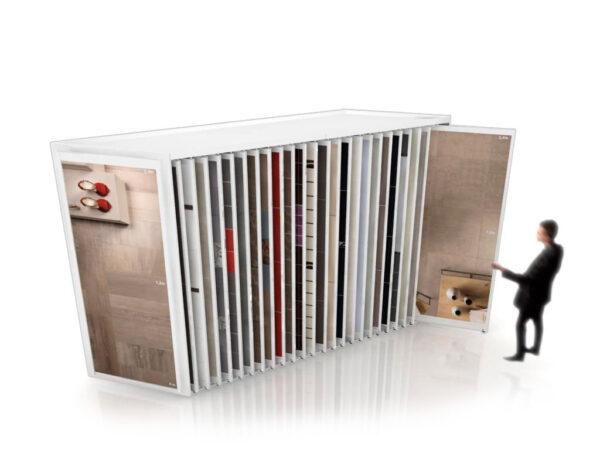 Sliding Tile Display Unit For Tile Wall Tile Display
