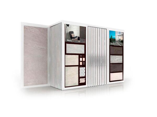 Combined Floor And Wall Tile Display Display Rack