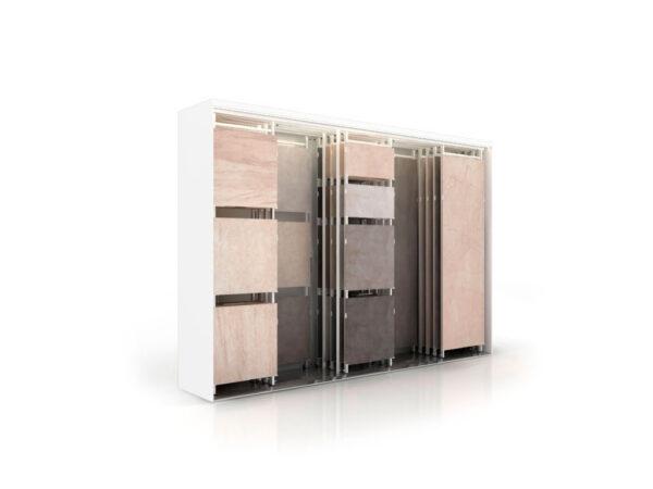 Sliding Ceramic Tile Display Combination Display Rack