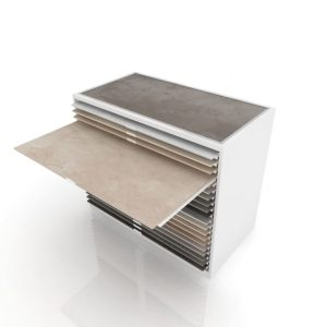 Ceramic Tile Drawer Unit Display Rack