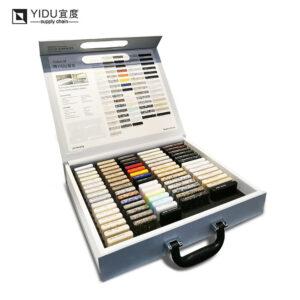 Portable Quartz Stone Display Box Customization