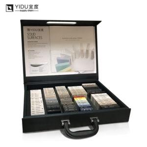 Portable Marble Sample Display Box