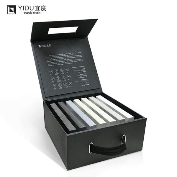 Portable Granite Sample Display Box