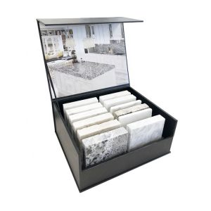 High-quality Cardboard Box For Quartz Stone Granite Sample Display