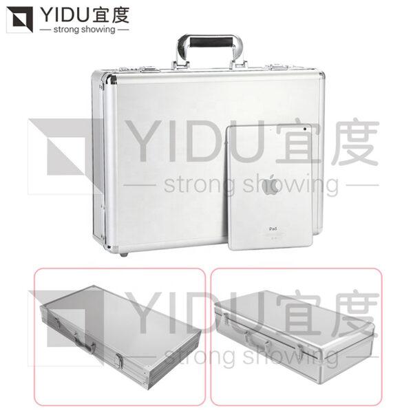 Stone Sample Display Box Portable Granite Sample Suitcase