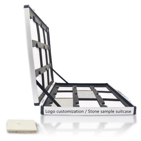 Hot Selling Ceramic Tile Quartz Stone Sample Suitcase Wholesale