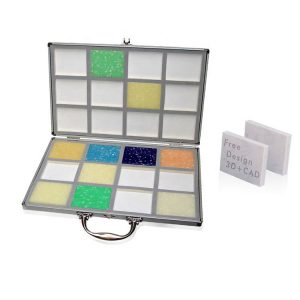 China Mosaic Tile Sample Aluminum Suitcase Supplier