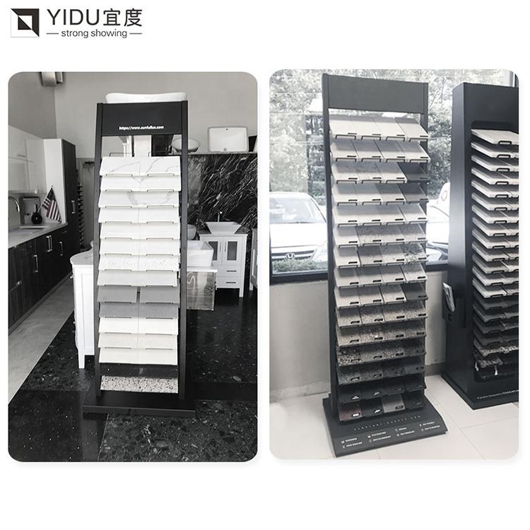 Tiles Showroom Display Marble Quartz Stone Floor Stand