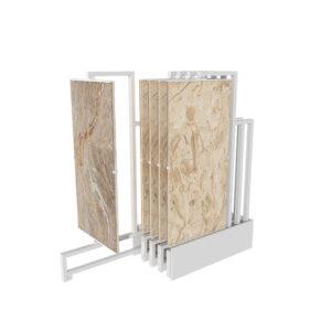 Tile Spinning Display Rack Push-pull Ceramic Tile Rack