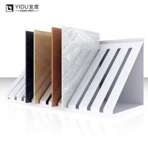 Ceramic Tile Metal Display Racks Floor Type Display Stand