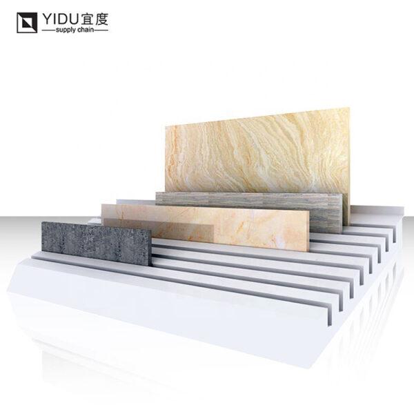 Simple Ceramic Tile Countertop Display Rack For Sale