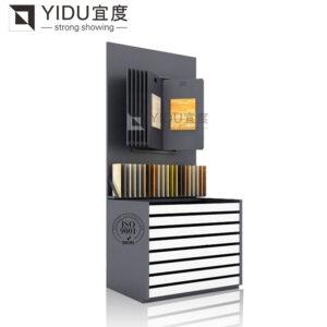 Ceramic Tile Showroom Display Stands Drawer Ceramic Tile Combination Cabinet