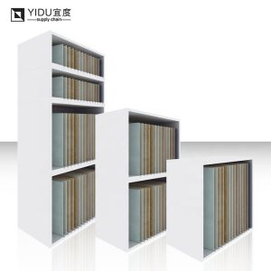Ceramic Tile Showcase Stand 4 Tier Display Cabinet Rack