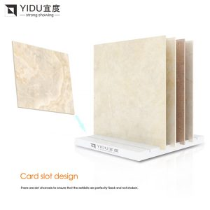 Simple Ceramic Tile Display Stand For Showroom Display